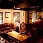 The cosy lounge/bar