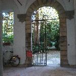 Le cortile d'entrée de l'immeuble