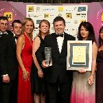 AA awards ceremony in London, Park Lane 2012