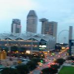 180deg view from room balcony