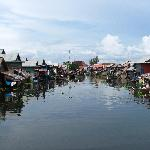 Kampong Phhluk floating village