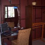 Computer. Deluxe room.