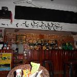 The restaurant and bar on the ground floor