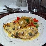 Chicken Picatta at Incanto Restaurant at Fraser Residence Sudirman Jakarta