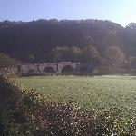 Kerne Bridge next to Priory