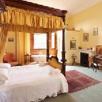 Bed & Breakfast room at Cambo House