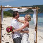 Perfect beach for a wedding