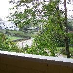 Vue extérieure  de notre balcon
