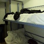 aber kein Gitter am Bett