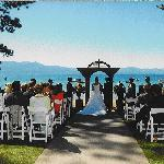Weddings on the Beach at Zephyr Cove Resort