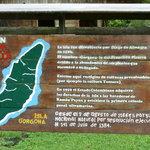 Willkommens-Schild Nationalpark