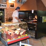 Meat Case and Wood Fired Oven