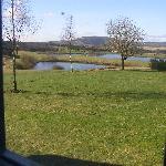 View from bedroom window.