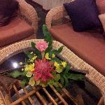 schöne (echte) Blumendeko