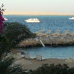 View of Red Sea from room