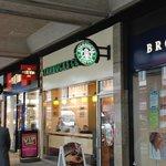 Front of the Victoria Street Starbucks