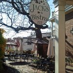 Courtyard Dining at Jack's Bistro, New Castle, DE