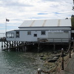 View of the Boathouse Cafe in Nelson NZ