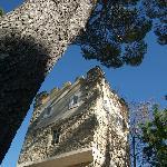 Der Turm auf Chateau les Sacristains