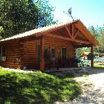 Spruce Cabin - Sleeps 8 - Horse Theme