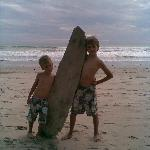La playa de Mal Pais