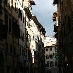Typical florentine street