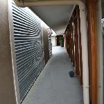 view of the corridor