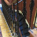 scala che porta dalla hall al primo piano