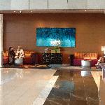 Lobby cove near registration desks