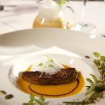 La Rotisserie restaurant - pumpkin soup