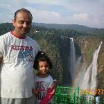 Jog Falls with my Baby