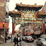 Entrance to Chinatown....a block from the hotel!!