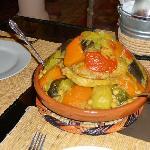 le couscous aux 7 légumes: un délice !