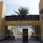 Entry to Hotel El Djanoub