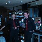 Friendly Barmen in Function Room