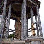 The Bhuddist temple