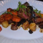 Bison Tenderloin- their signature entree. try it!