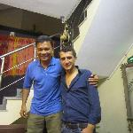 with Ilkay Alkan,recepcionist, nice and friendly