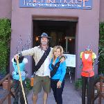 Greg and Gracie Stevenson's Hike House is the focal point of Sedona's active day-hike scene.