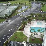 View from the top floor Bldg 3