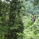 Sky Trek ziplining -- awesome!