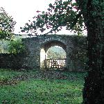 View of gateway from the grounds