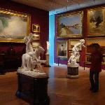 Salon in the new Arts of the Americas wing