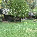 Smaller cabins along Oak Creek