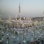 A view for HARAM from the room
