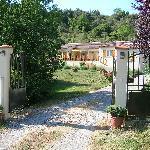 Entry to L'Olivette