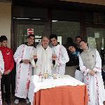 Termine della Celebrazione Eucaristica - Ritiro in preparazione alla Cresima 8 maggio 2010