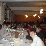 A Pranzo - Ritiro in preparazione alla Cresima 8 maggio 2010