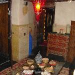 Salon attente HAMMAM;SAUNA et MASSAGES
