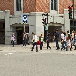 Berri-UQAM subway-métro at 2 minute-walk